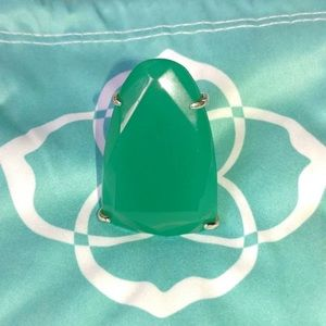 Kendra Scott Large gemstone ring.